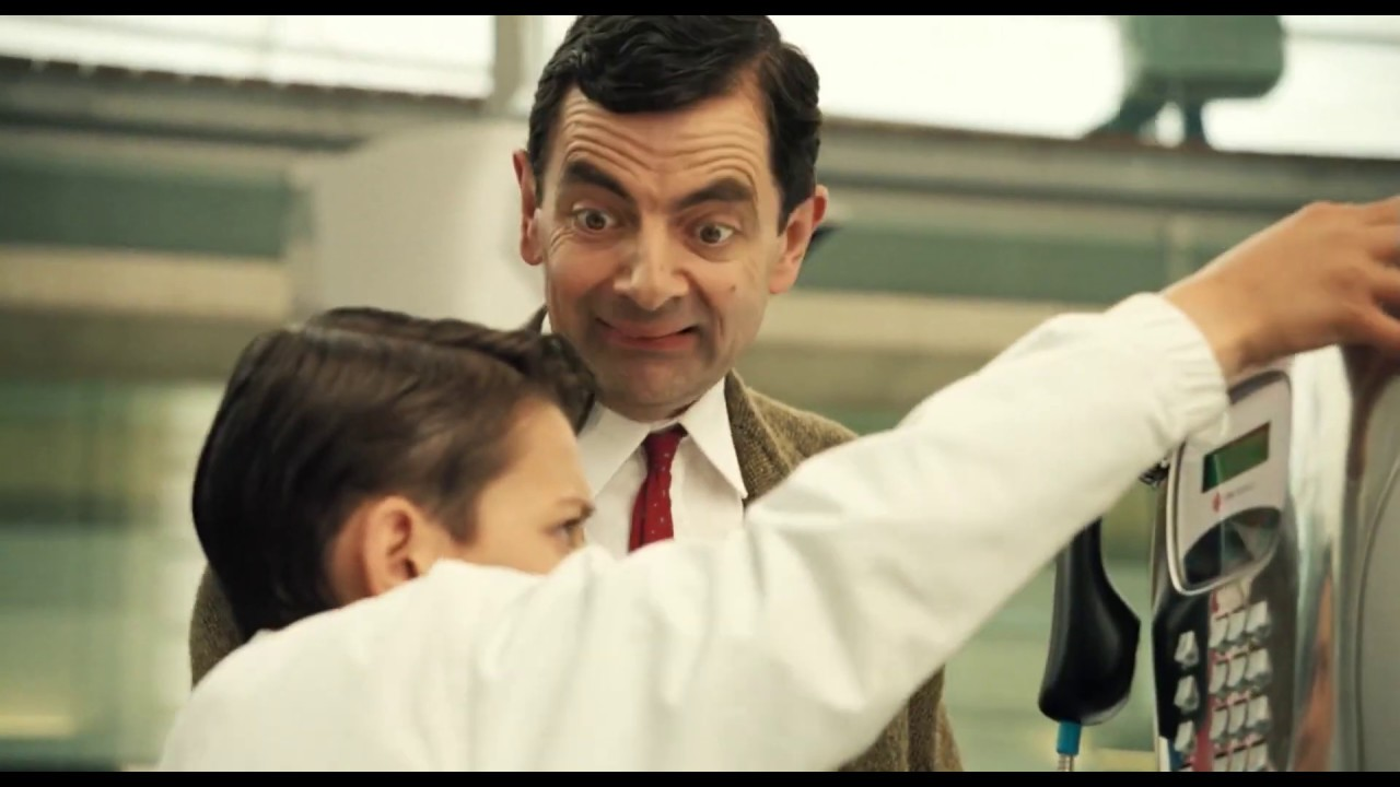 Wrong Number Mr Bean Mr Bean S Holiday Movie Clip Classic Mr Bean Youtube