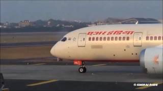 Plane Spotting at Mumbai Airport- 7 Plane Back 2 Back Takeoff from Chhatrapati Shivaji Airport