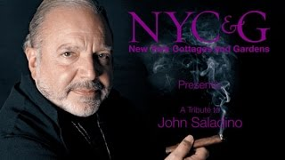 A Tribute to John Saladino, the 2015 NYC&G Innovator Award Recipient