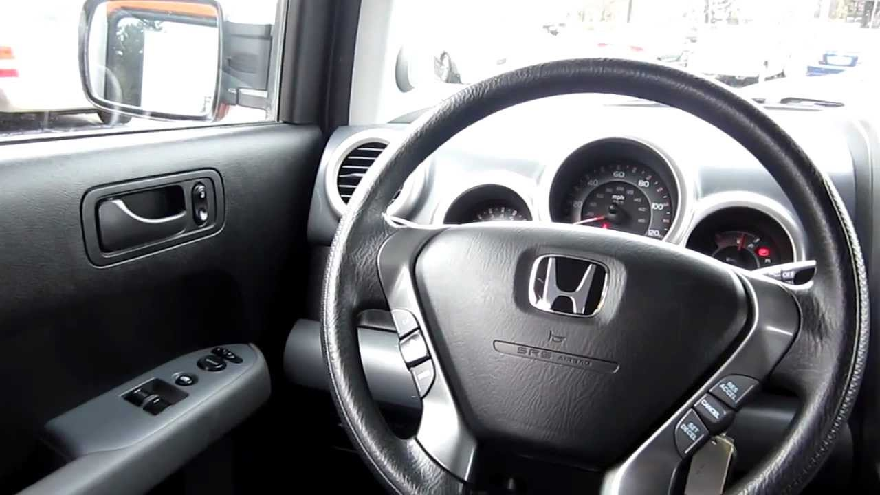 2006 Honda Element EX P, Orange   Stock# M1401651   Interior