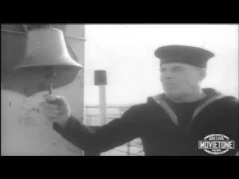 RMS Aquitania last voyage - Southampton, 1950