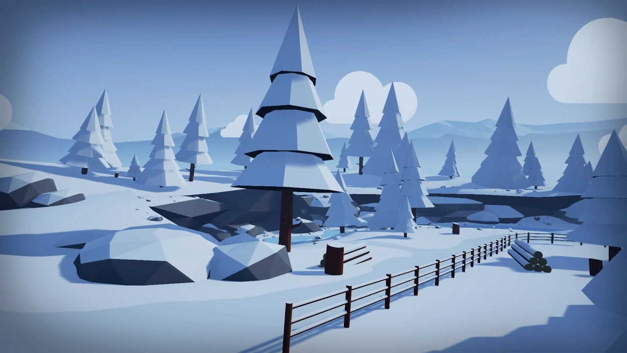 25+ Unreal Engine 4 Stylized Landscape Pictures and Ideas on