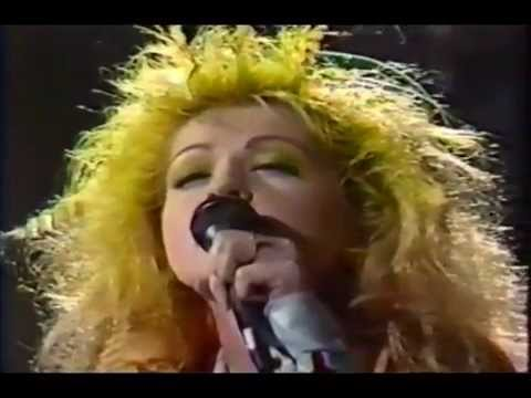 Cyndi Lauper  True Colors  Letterman 1986