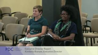 PDC Commissioners Meeting October 12, 2016