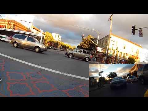Bike Oakland: Dramatic International Clouds