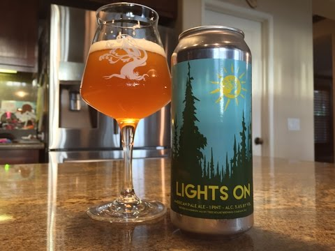Beer Review #111 - Tree House Brewing Company - Lights On - 5.6 % ABV