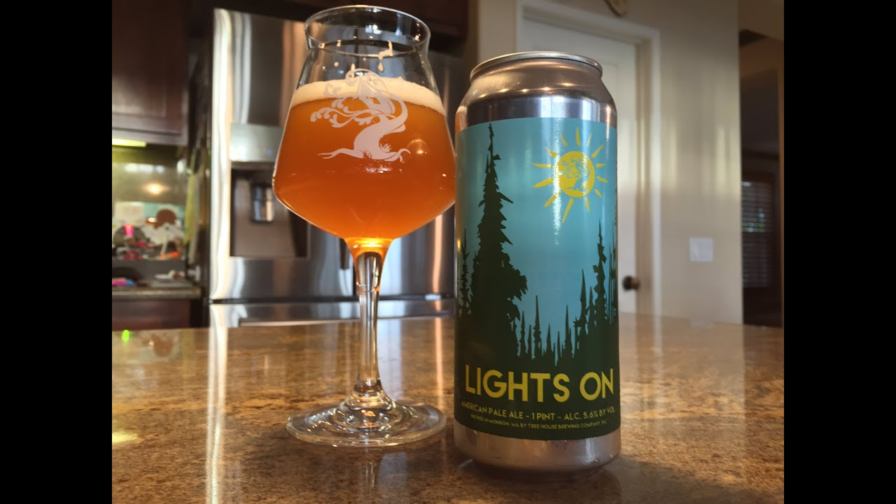 Treehouse Brewing Part - 26: Beer Review #111 - Tree House Brewing Company - Lights On - 5.6 % ABV