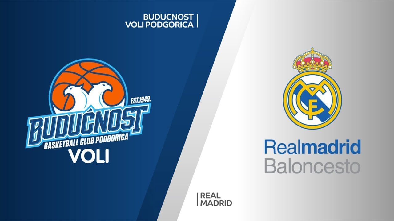 Buducnost VOLI Podgorica - Real Madrid Highlights   Turkish Airlines EuroLeague RS Round 19