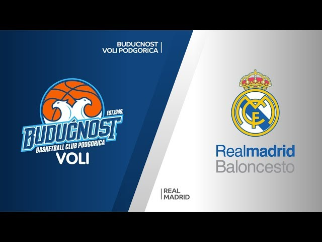Buducnost VOLI Podgorica - Real Madrid Highlights | Turkish Airlines EuroLeague RS Round 19
