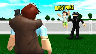 I Lost BABY POKE.. I Had To Rescue Him! (Roblox Bloxburg)