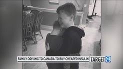 W. MI family travels to Canada for cheaper insulin