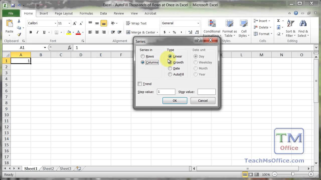 Ediblewildsus  Seductive Excel  Autofill Thousands Of Rows At Once In Excel  Youtube With Fascinating Creating A Pivot Table In Excel Besides Ctrl Shift Enter Excel Furthermore Excel Split Column With Cool How To Do A Pie Chart In Excel Also Substitute Excel In Addition Excel Text Format And How To Label Axes In Excel As Well As How To Center In Excel Additionally Excel Vba Inputbox From Youtubecom With Ediblewildsus  Fascinating Excel  Autofill Thousands Of Rows At Once In Excel  Youtube With Cool Creating A Pivot Table In Excel Besides Ctrl Shift Enter Excel Furthermore Excel Split Column And Seductive How To Do A Pie Chart In Excel Also Substitute Excel In Addition Excel Text Format From Youtubecom