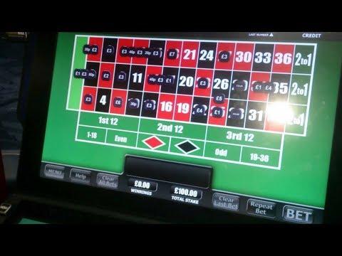 fobt roulette no 34 big win maximum bets