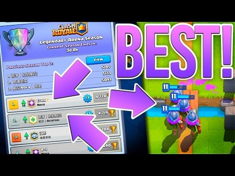 Clash Royale | THREE MUSKETEERS Top The Leaderboards!