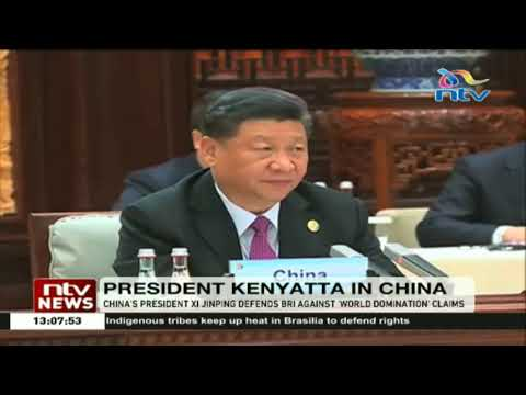 China's president Xi Jinping defends Bri against world domination claims
