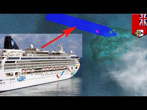 Norwegian Dawn: Cruise ship runs aground on reef off Bermuda after losing power - TomoNews