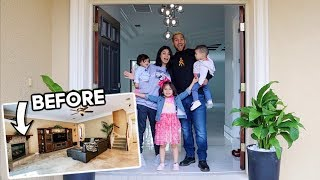 THE BRAMFAM'S NEW RENOVATED HOUSE TOUR!!! **FINALLY**