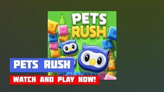 Pets Rush · Game · Gameplay