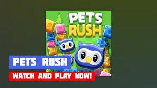 Pets Rush · Game · Gameplay