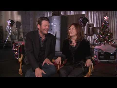 Blake Shelton and his MOM's 'Not So Family Christmas' Interview