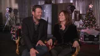 Blake Shelton and his MOM's 'Not So Family Christmas' Interview Video