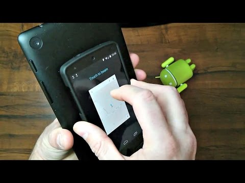 NFC Near Field Communication Review & Test Android Nexus 5 & 7