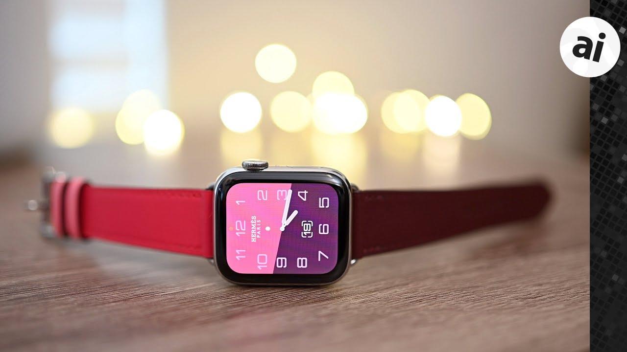 Hands On 40mm Women S Hermes Apple Watch Series 4 Youtube