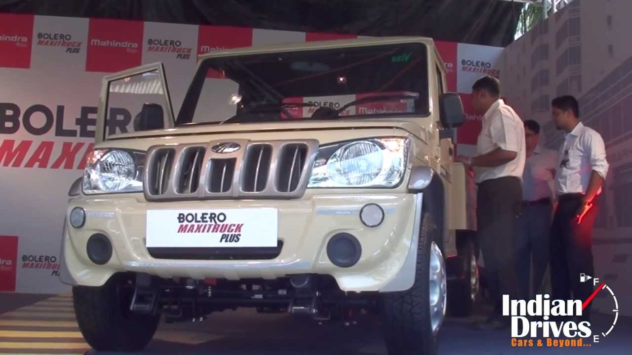 New Mahindra Bolero Maxi Truck Plus Launched Youtube