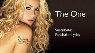 05 Shakira The One Lyrics.mp3