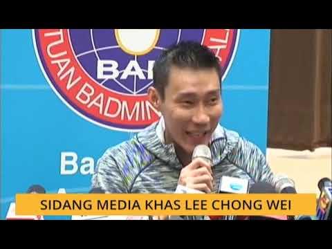 Sidang Media Khas Datuk Lee Chong Wei