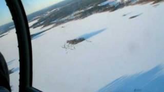 SK50 över Storsjön i Gästrikland
