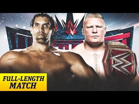 Brock Lesnar vs The Great Khali for The Universal Championship