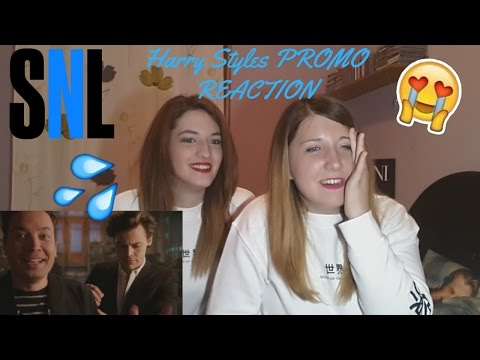 Thumbnail: HARRY STYLES IS BAAAACK! (SNL PROMO) REACTION!!