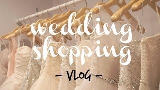 SHE SAID YES!  /  /  Wedding Dress Shopping Vlog!