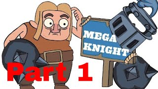 Clash Royale Animation- Builder and Mega Knight (PART 1)