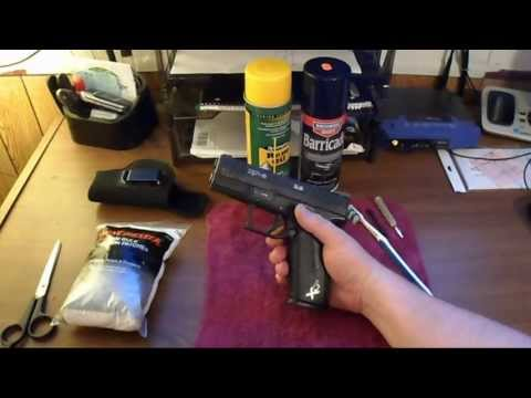 How To Clean Your Hand Gun: Springfield XDM 3.8 Tutorial (HD)