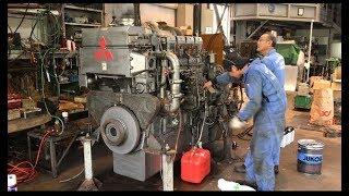 三菱 MITSUBISHI engine S6R2-MTK2 670kw