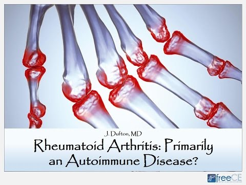 Rheumatoid Arthritis: Primarily An Autoimmune Disease