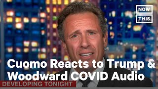 Chris Cuomo Slams Trump for Admitting to Downplaying COVID-19 | NowThis