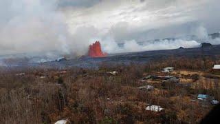 Erupción en Hawai: cuando la la lava llega al mar