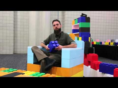 Everblock Giant Lego Blocks Put The Fun In Furniture
