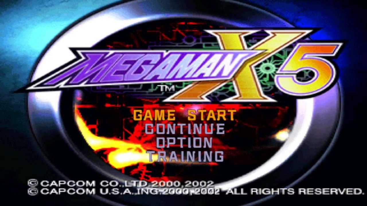 Hướng dẫn tải Megaman X5 ( full có phim và nhạc) và bản hack trainer