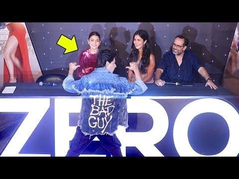 Shah Rukh Khan,Katrina Kaif,Anushka Sharma @ZERO Movie Trailer Launch Complete Video HD