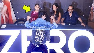 Shah Rukh Khan,Katrina Kaif,Anushka Sharma @ZERO Movie Trailer Launch Complete Video HD