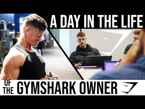 SPEND A DAY AT GYMSHARK WITH ME: Owner & Chief Marketing Officer Of Gymshark   Ben Francis