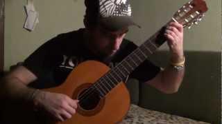 В Траве Сидел Кузнечик | Fingerstyle Guitar | Dmitry LEVIN