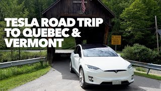 Tesla Road trip to Quebec and Vermont