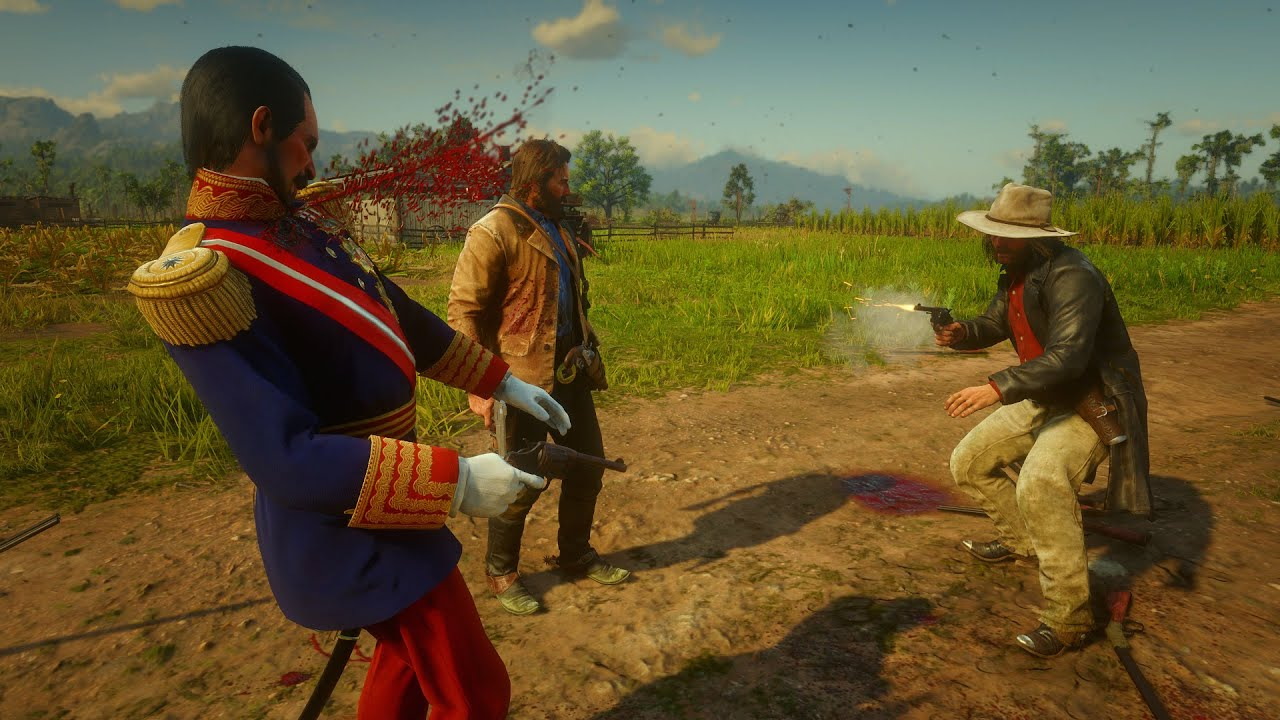 Download NPC Duels with Dead Eye Killcam Euphoria Physics Red Dead Redemption 2 PC Mods
