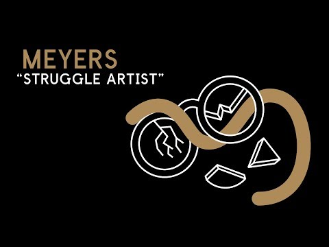 """Meyers """"Struggle Artist"""" Shelter Press SP093"""