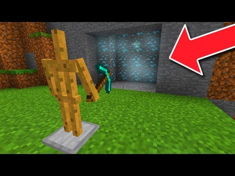 MCPE 1.4 BETA! - SELF MINING ROBOT In Minecraft Pocket Edition!